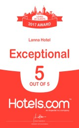 2017 Hotels dot COM Award Winner