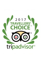 2017 Trip Advisor Travellers Choice Award Winner