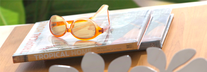 Book and Sunglasses Koh Samui